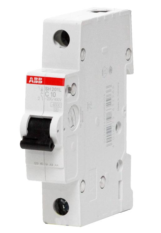 Автоматический выключатель SH201L C10 2CDS241001R0104 ABB