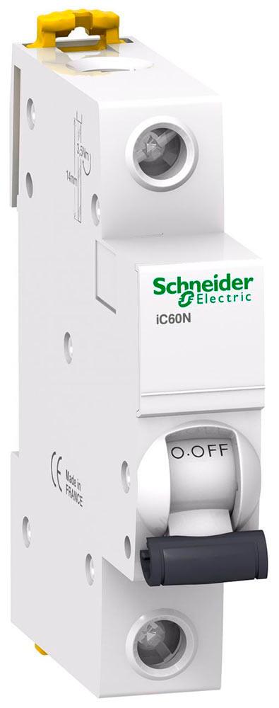 Автоматический выключатель iC60N 1П 3A C A9F74103 Schneider Electric