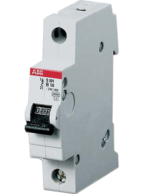 Автоматический выключатель S201 B10 6кА 2CDS251001R0105 ABB