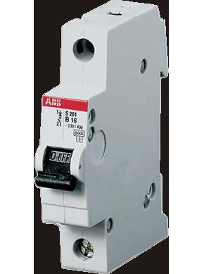 Автоматический выключатель S201 C10 6кА 2CDS251001R0104 ABB