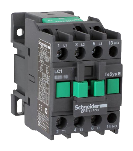 Контактор E 12А 380В 50Гц 1но LC1E1210Q5 Schneider Electric