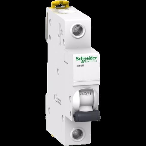 Автоматический выключатель iK60N 1п 16A C 6кА A9K24116 Schneider Electric