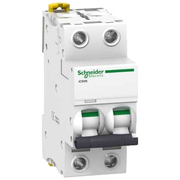 Автоматический выключатель iC60N 2П 4A C A9F74204 Schneider Electric