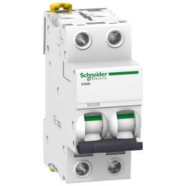 Автоматический выключатель iC60N 2П 4A D A9F75204 Schneider Electric