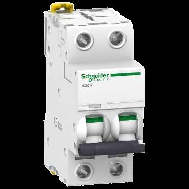 Автоматический выключатель iC60N 2П 10A B A9F78210 Schneider Electric