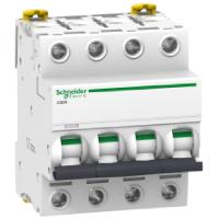 Автоматический выключатель iC60N 4П 10A C A9F79410 Schneider Electric