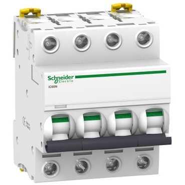 Автоматический выключатель iC60N 4П 16A C A9F79416 Schneider Electric