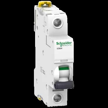 Автоматический выключатель iC60N 1П 25A C A9F79125 Schneider Electric