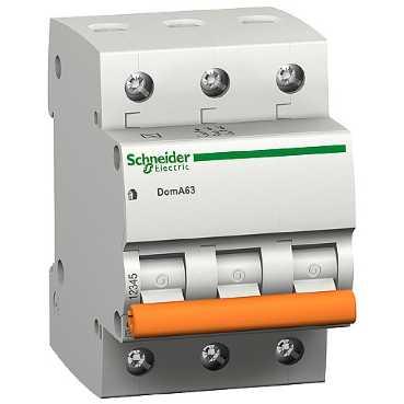 Автоматический выключатель ВА 63 3П 32A C 4,5кА 11226 Schneider Electric