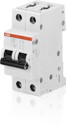 Автоматический выключатель S202 C16 6кА 2CDS252001R0164 ABB