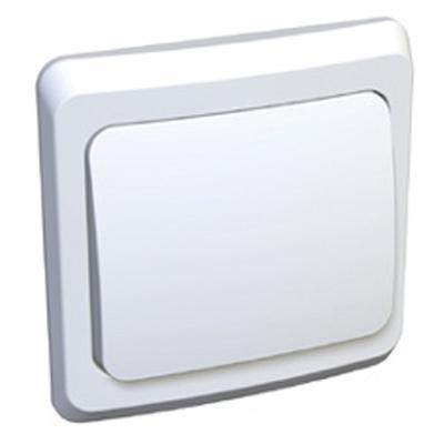 Этюд Выключатель с/у 1 клавиша белый BC10-001B Schneider Electric