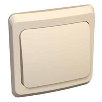Этюд Выключатель с/у 1 клавиша кремовый BC10-001K Schneider Electric