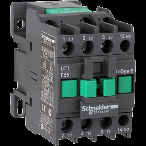 Контактор E 65А 380В 50Гц LC1E65Q5 Schneider Electric