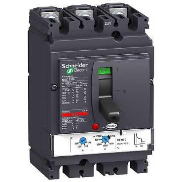 3П3Т Автоматический выключатель TM200D NSX250F LV431631 Schneider Electric