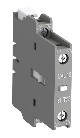 Контактный блок CAL-18-11 боковой 1HO1НЗ для контакторов АF95- АF1650 1SFN010720R1011 ABB
