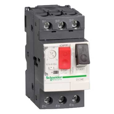 Автомат защиты двигателя GV2 4-6,3А GV2ME10 Schneider Electric