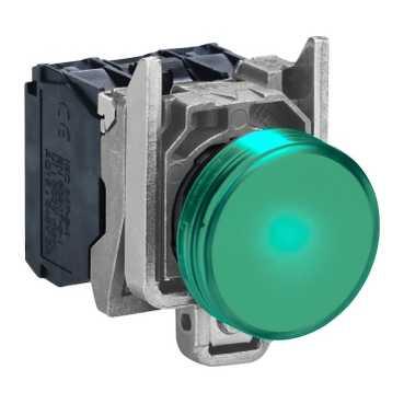 XB4 Лампа LED Зеленый 220В AC XB4BVM3 Schneider Electric
