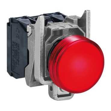 XB4 Лампа LED Красный 220В AC XB4BVM4 Schneider Electric