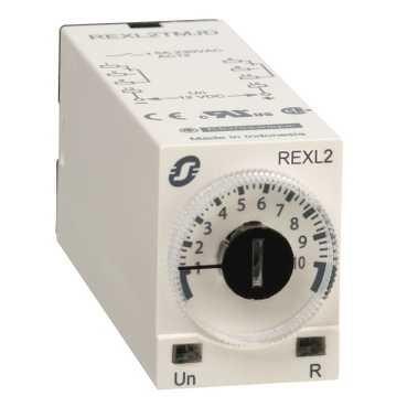 реле-ТАЙМЕР СЪЁМНОЕ ~230В, 2 CO, 5А REXL2TMP7 Schneider Electric