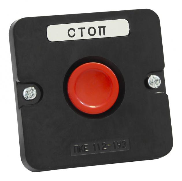 ПКЕ 112-1 Красный Кнопка PKE1121KR Texenergo