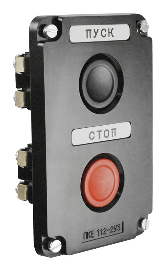 Пост кнопочный ПКЕ 112-2 PKE1122 Texenergo