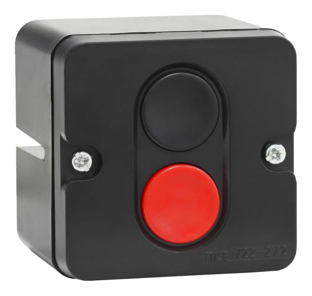 Пост кнопочный ПКЕ 722-2 PKE7222 Texenergo