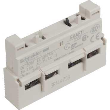 Доп контакт к GV2 1но+1нз Монтаж Спереди GVAE11 Schneider Electric