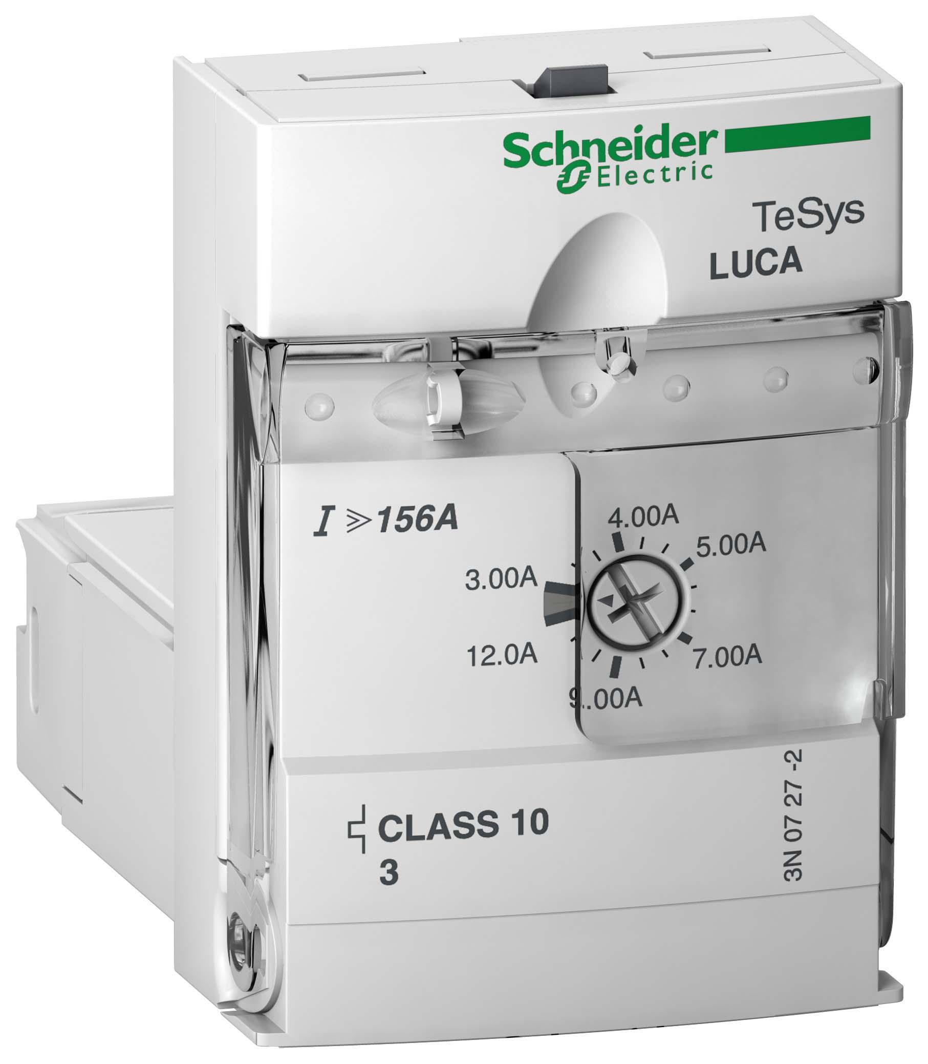 Блок управления стандартный 3-12A 110-240V CL10 3P для Tesys U LUCA12FU Schneider Electric