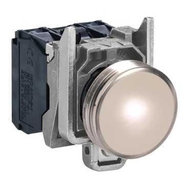 XB4 Лампа LED Белый 220В AC XB4BVM1 Schneider Electric