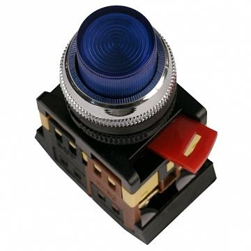 Кнопка ABLFP-22 красная с подсветкой BBT20-ABLFP-K04 IEK