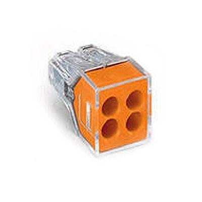 Клеммник 773-324 1,0-2,5мм2 на 4 провод. (уп.-100шт.) Wago 773-324 Wago