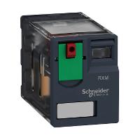 Реле промежуточное RXM, 2 C/O, 6А, 230В AC RXM2AB1P7 Schneider Electric