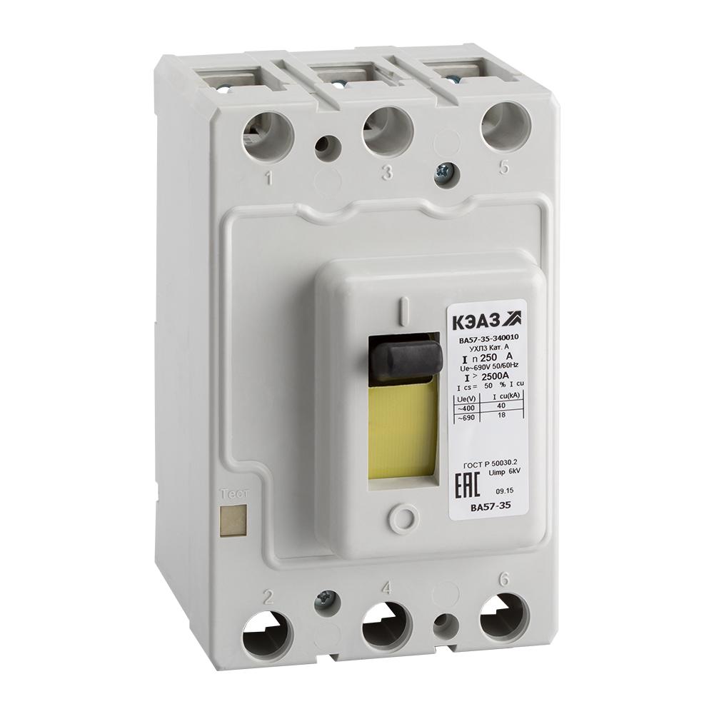 Автоматический выключатель ВА 5735-340010-630 80А 2876800045 КЭАЗ