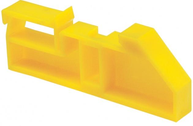 Изолятор на DIN-рейку желтый IZ-DIN05 Texenergo