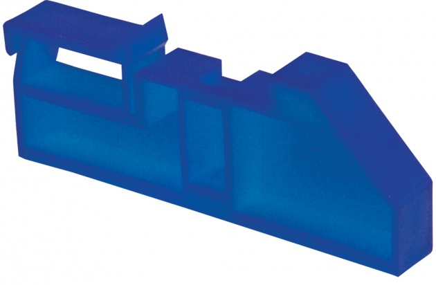 Изолятор на DIN-рейку синий IZ-DIN07 Texenergo