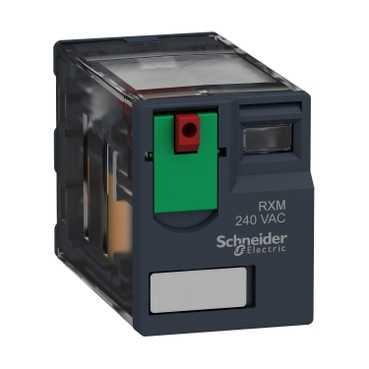 Реле промежуточное RXM, 4 C/O, 6А, 230В AC RXM4AB1P7 Schneider Electric