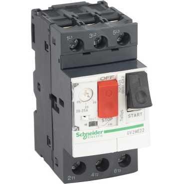 Автомат защиты двигателя GV2 20-25А GV2ME22 Schneider Electric