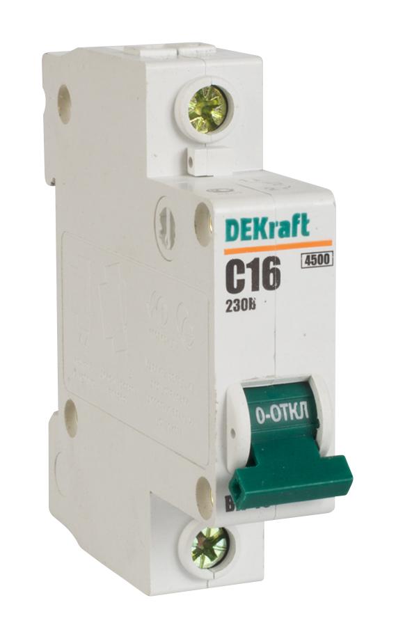 Автоматический выключатель ВА-101 1п 16А C 4,5кА ВА101-1Р-016А-C Schneider Electric