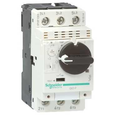 Автомат с комбинированным расцепителем 4-6,3А GV2P10 Schneider Electric