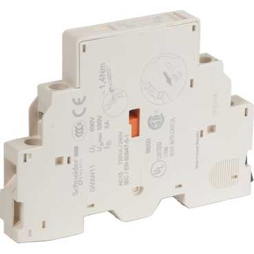 Дополнительный контакт мгновенного действия НО+НЗ GVAN11 Schneider Electric