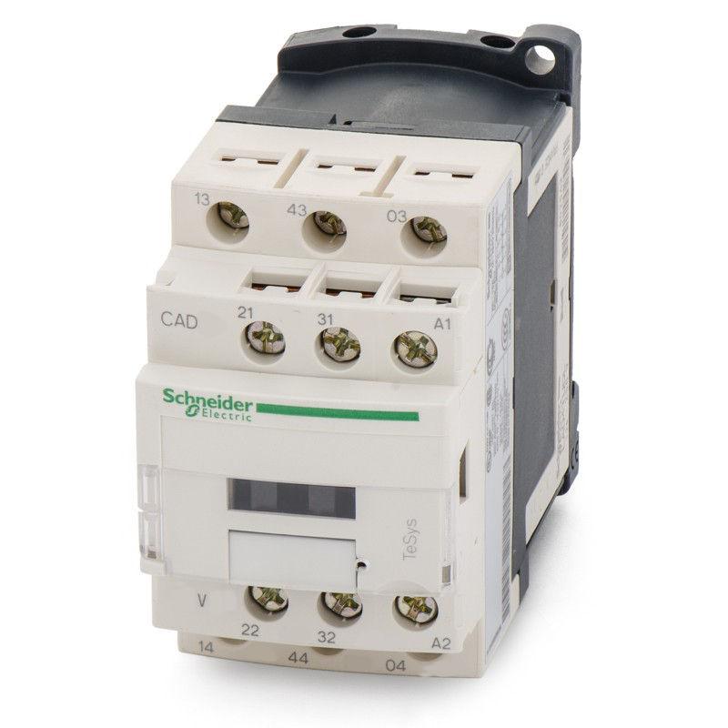 Реле промежуточное промышленное CAD 3но+2нз 380В AС CAD32Q7 Schneider Electric