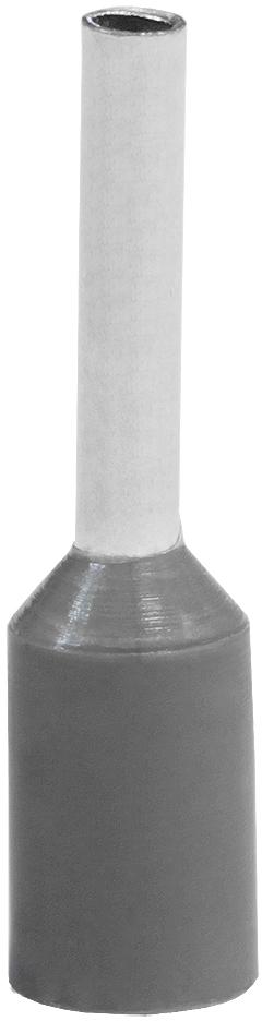 Наконечник штыревой втулочный изолированный НШвИ 0,75-8 (уп. по 100 шт.) NSHV0080208 Texenergo