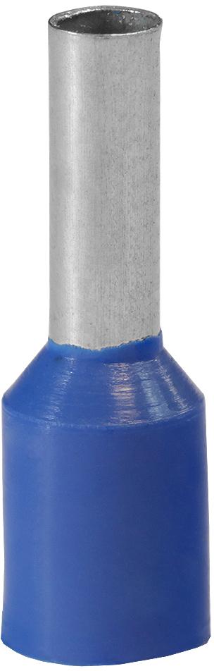 Наконечник штыревой втулочный изолированный НШвИ 2,5-8 (уп по 100 шт.) NSHV0250408 Texenergo