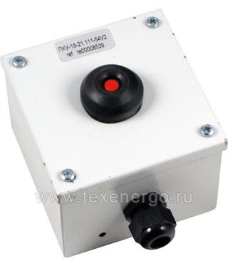 Пост управления ПКУ 15-21.111-54У2 (Красная кнопка) PKM1501 Texenergo