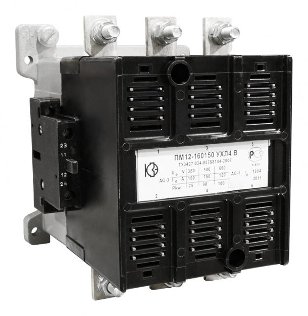 Пускатель электромагнитный ПМ12-160150 УХЛ4 В, 220В (ПМА-6100 (6102)) 072150220ВВ220000000 Кашинский Завод Электроаппаратуры