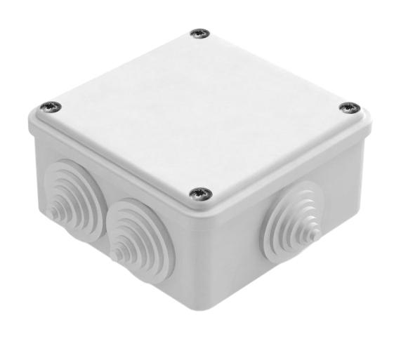 Коробка расп. о/у 6 вводов 100х100х50 IP44 GE41233 Tyco
