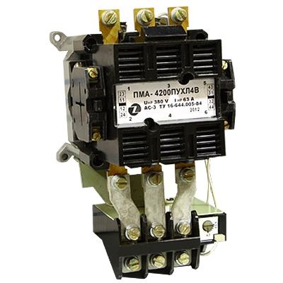 Пускатель электромагнитный ПМА 4200 2з+2р УХЛ4 380В  ЗЭТА