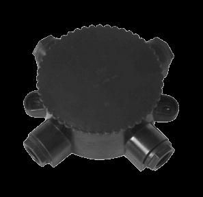 Коробка протяжная У409-У1.5 4-х рожковая (КЭМ 2-660-4) IP65 000767 Texenergo