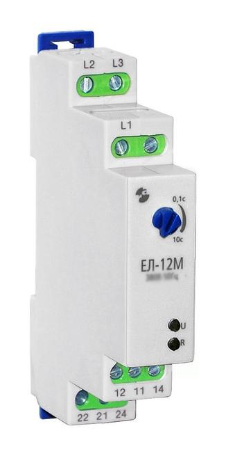 Реле контроля 3-фазной сети ЕЛ-11М 380В 50Гц 2CO A8222-77135181 Реле и автоматика