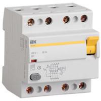 УЗО ВД1-63 4п 16A/30мА AC 0,5/4,5кА MDV10-4-016-030 IEK